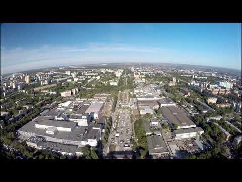 За 8 минут весь проспект Карла Маркса г.Самара #Samara #Russia
