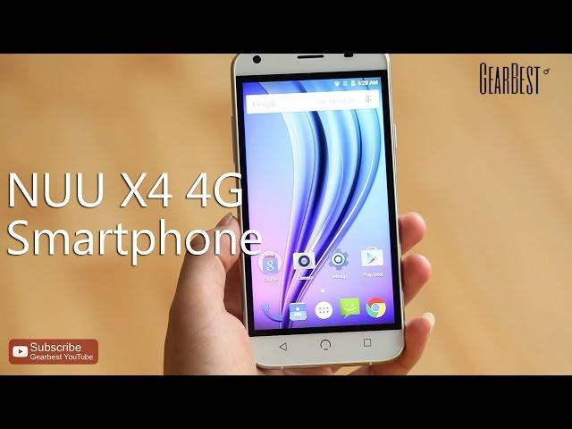 NUU X4 US Version 4G Smartphone
