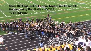 FNL Pep Rally performance - 10/7/16