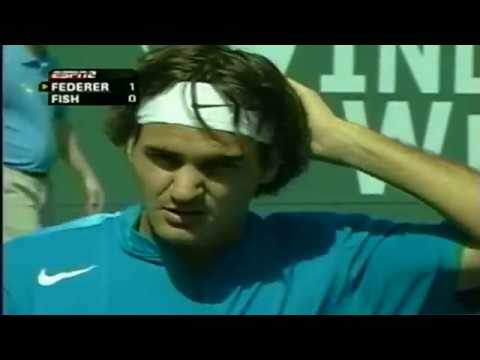 Indian Wells 2005 Roger Federer - Mardy Fish