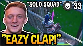 TFUE SHOWS WHY HE'S THE GREATEST SOLO SQUAD PLAYER! (33 KILLS) *INSANE*