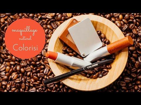 Le maquillage bio/naturel avec Colorisi