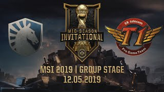 TL vs SKT [MSI 2019][12.05.2019][Group Stage]