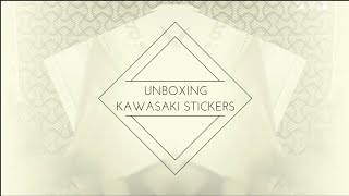 Video Unboxing - Kawasaki Stickers. | KAWASAKI Racing Team | Kawasaki Ninja Cup download MP3, 3GP, MP4, WEBM, AVI, FLV Mei 2018