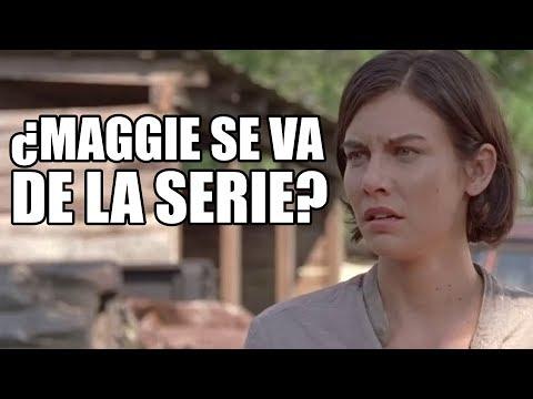 ¿Lauren Cohan se puede ir de la serie? - The Walking Dead Temporada 8 Capítulo 9