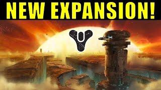 Destiny: NEW EXPANSION OFFICIALLY ANNOUNCED!   Destiny 2016 DLC