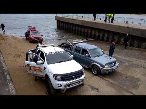 WATCH: Submerged vehicle recovered from Richards Bay waters