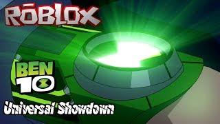 MASTER CONTROL UNLOCKED!!! || Roblox Ben 10 Universal Showdown