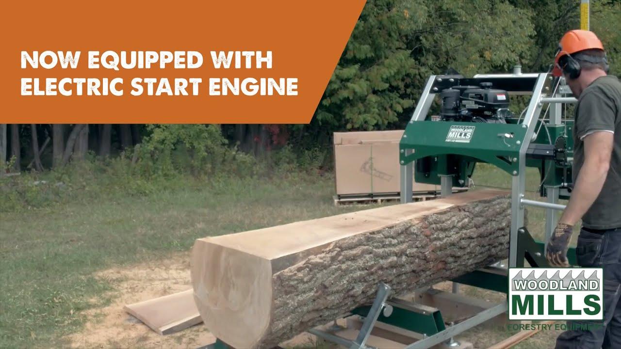 Woodland Mills HM130 Portable Sawmill