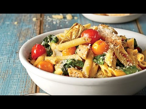 Chicken-and-Artichoke Penne | Southern Living