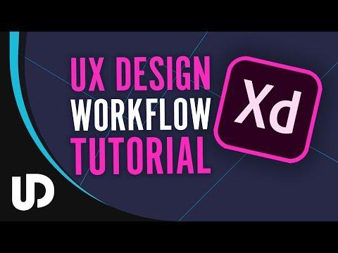 Wie Arbeitet man mit Adobe Xd? Workflow Tutorial | #Tutorial #Webdesign