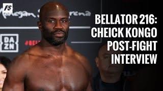 Bellator 216: Cheick Kongo post-fight interview