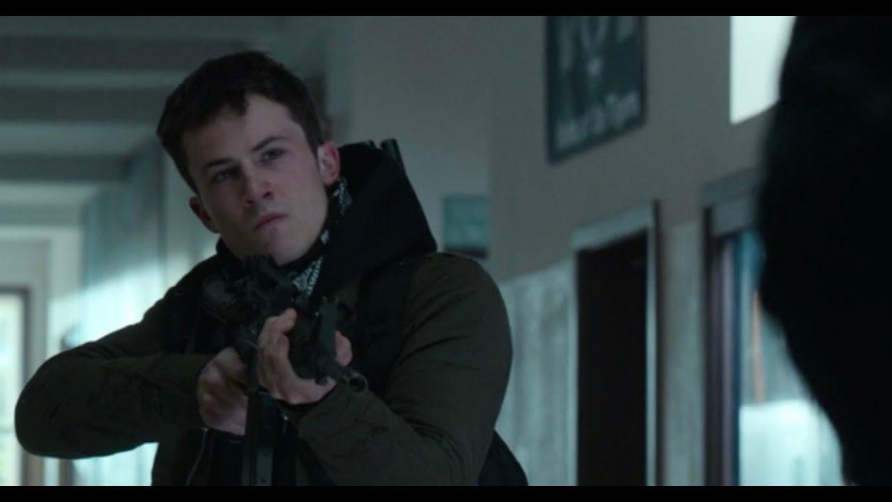 Download 13 Reasons Why | Clay Shoots Himself Scene | Season 4