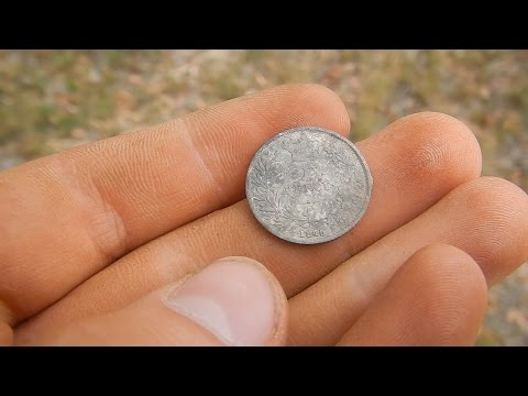 #101 1845 SILVER!!! Metal Detecting the Australian Goldfields!!!
