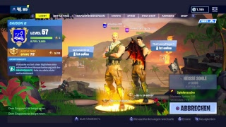 Fortnite Stream road to 140 subs (Deutsch) Lava Legends Pack :) #WeZz