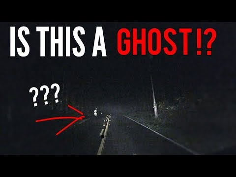 GHOST SEEN WHILE DRIVING !!! (CREEPY)