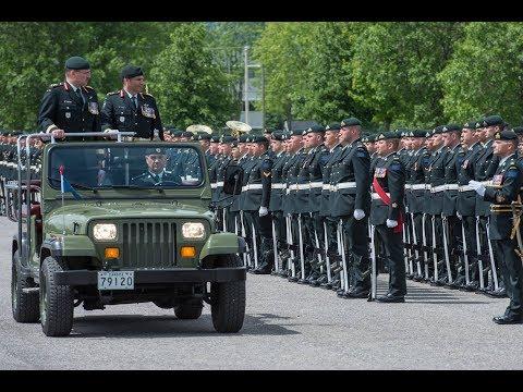 Changement de commandant au 5e Groupe-brigade mécanisé du Canada
