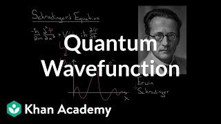 Quantum Wavefunction | Quantum physics | Physics | Khan Academy