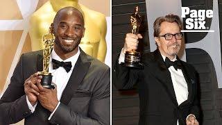 Kobe Bryant and Gary Oldman win Oscars despite #MeToo | Page Six