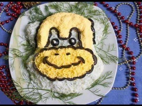 салатов рецепты пошаговым новогодних с фото