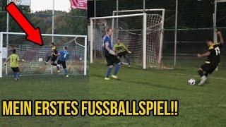 MEIN ERSTES FUSSBALLSPIEL HATTRICK & HEFTIGE TORE!!