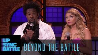 Beyond the Battle with Sarah Hyland & DeAndre Jordan | Lip Sync Battle
