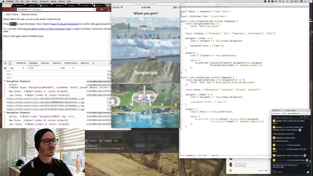 Livecoding Recap: React-Navigation With React Native [Video