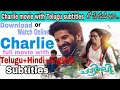How to download and watch Charlie full movie with Telugu,Hindi,English subtitles/Charlie in Telugu