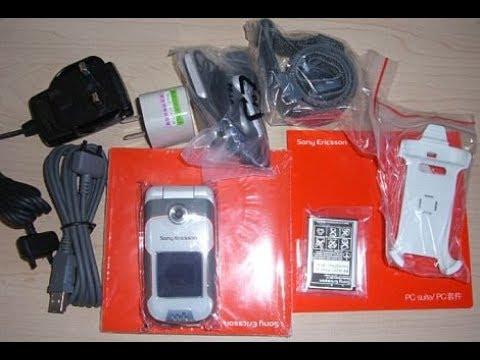 retro unboxing Sony Ericsson Walkman W710i