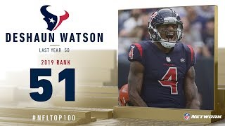#51: Deshaun Watson (QB, Texans) | Top 100 Players of 2019 | NFL