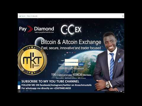 CCEX HOW TO CONVERT PAYDIAMOND BALANCE TO BITCOIN  VIA MKTCOIN  USING CCEX &SOUTHXCHANGE