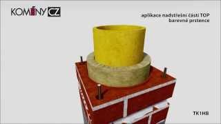 Montážní návod na stavbu komínu Komíny CZ-keramo