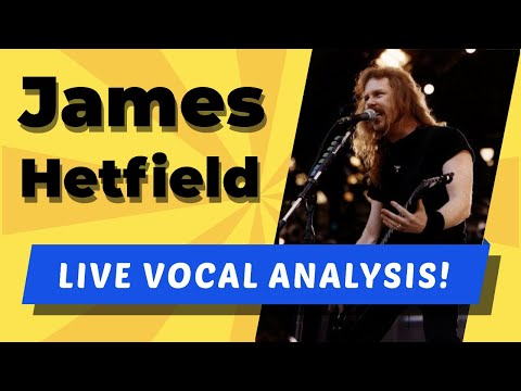 James Hetfield LIVE Vocal Analysis! (Master of Puppets)