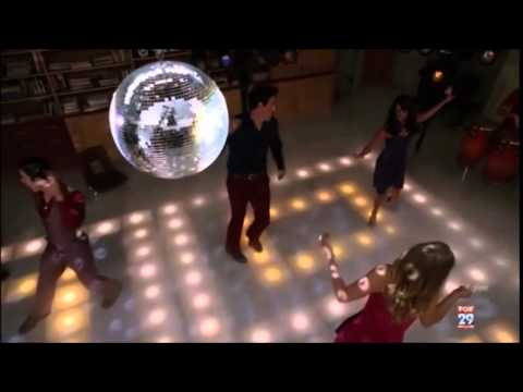 Glee - More than a woman full performance