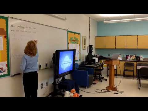 Parents Discuss Sleep At Gompers Elementary School