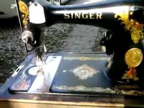 40 Singer Sewing Machine YouTube Mesmerizing 1935 Singer Sewing Machine