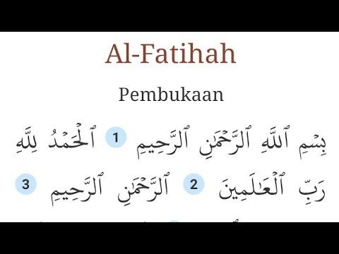 Qs Al Fatihah Muzammil Hasballah Mp3