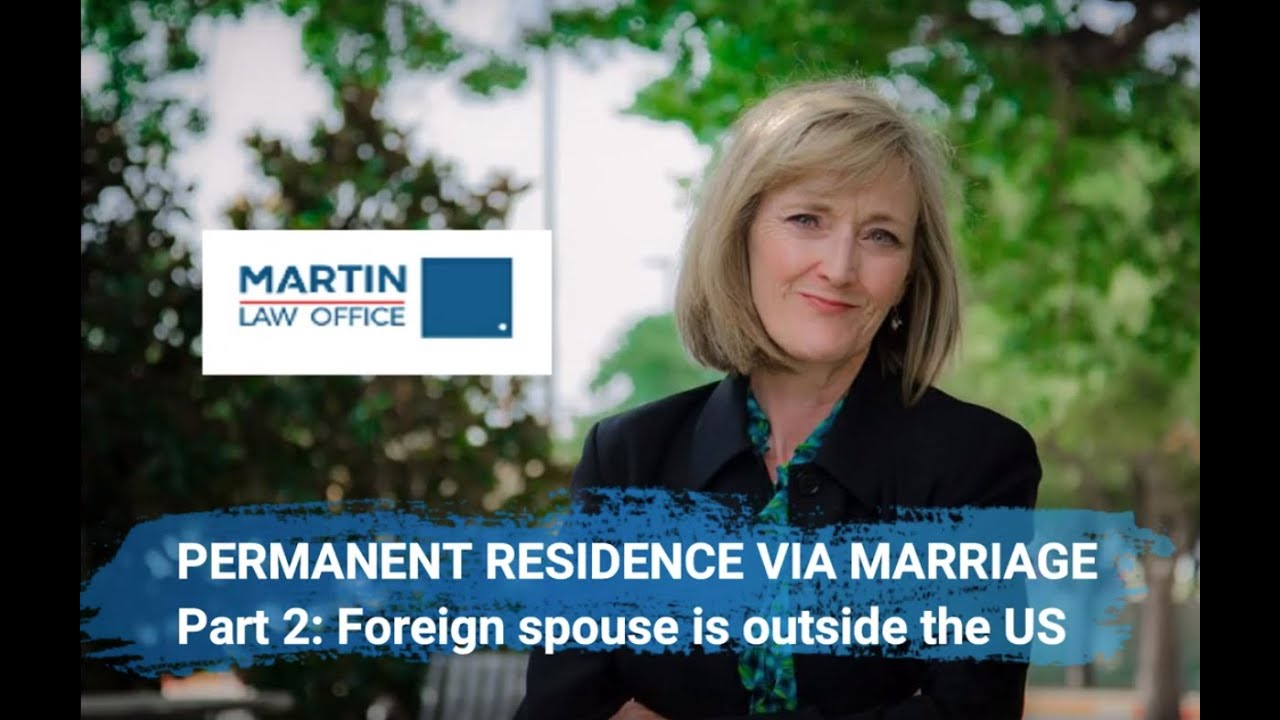 green card permanent residence through marriage