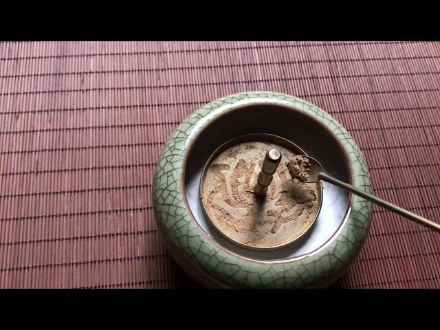 Sử dụng set xông trầm bột
