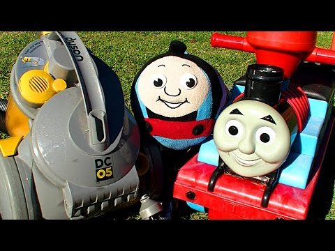 Thomas The Tank, Dyson Vacuum GOLD Trash & Treasure Hunting Aussie50 Style