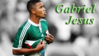 Gabriel jesus ● magic skills ● palmeiras ● 2014-2015 |hd|