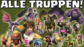 ALLE TRUPPEN! || CLASH OF CLANS || Let