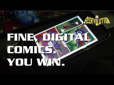 Why I'm Finally Reading Digital Comics