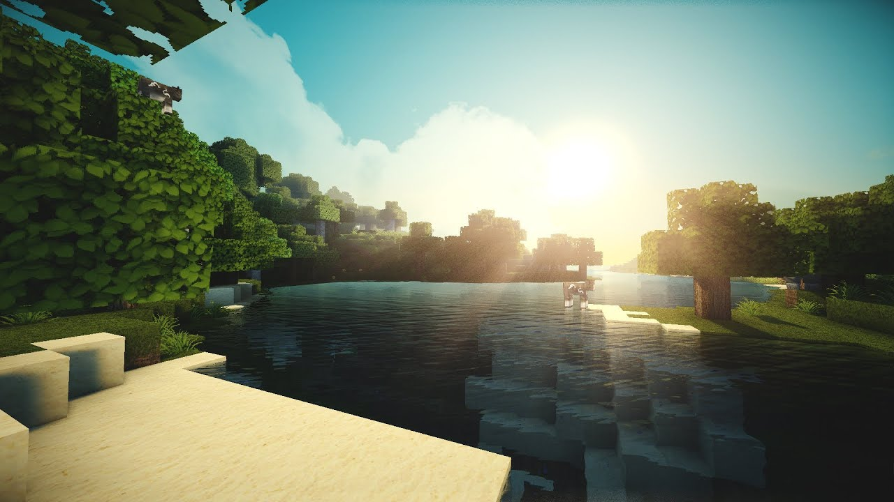 minecraft hd extreme beautiful graphics ambient pack 142 download free youtube