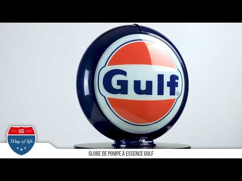 Globe de Pompe a essence GULF - US WAY OF LIFE