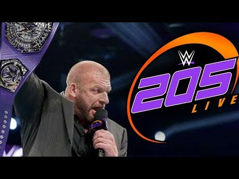 How Triple H Can Save WWE 205 Live
