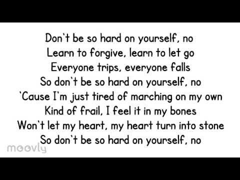 jess glynne Don't Be So Hard on Yourself lyrics