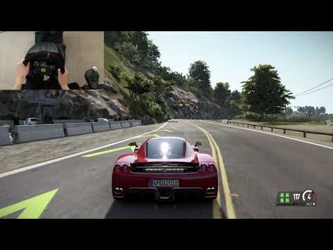 California highway-1 - Ferrari Enzo – Project Cars 2 - T300RS