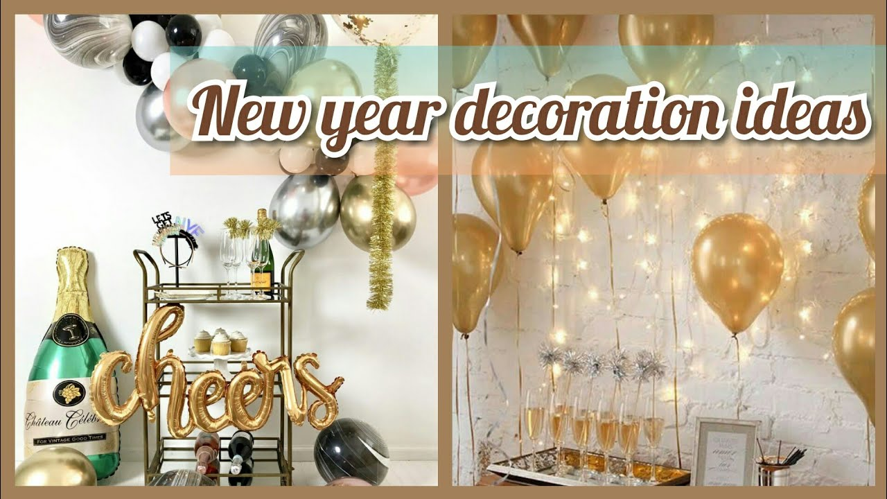 New Year Decoration Ideas New Year Evening Party Decor Ideas 2020 Youtube