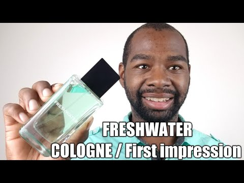 FreshWater Cologne by Bath & Body works / First impression